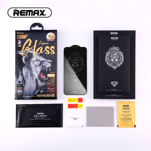 Image 5 - Protecteur décran en verre trempé REMAX 9D Anti intimité pour iPhone XS XR XSMAX Film étanche à la Surface incurvée