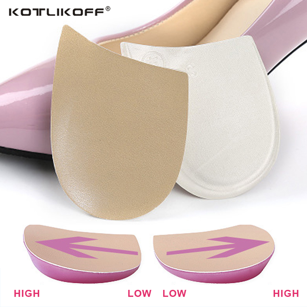 KOTLIKOFF Silicone Gel Insoles Orthopedic O/X Leg Insoles Heel Cup Shoes Inserts relieve foot pain Massaging Heel Pads 2016 insoles massaging type transparent silicone heel pads not fit well adjust measures improve gel insoles shoe accessories