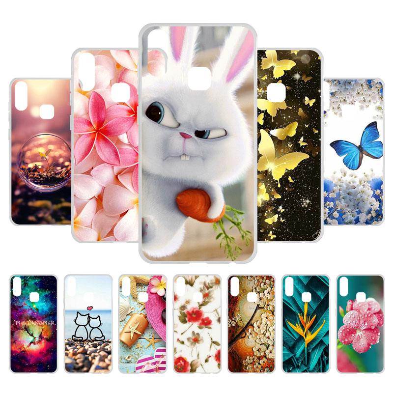 3D DIY Phone Cases For BQ Joy 1 Plus Case Silicone TPU Soft Back Cover for BQ Vsmart Joy 1 Plus 6 18 inch Case Bumper Shell in Fitted Cases from Cellphones Telecommunications