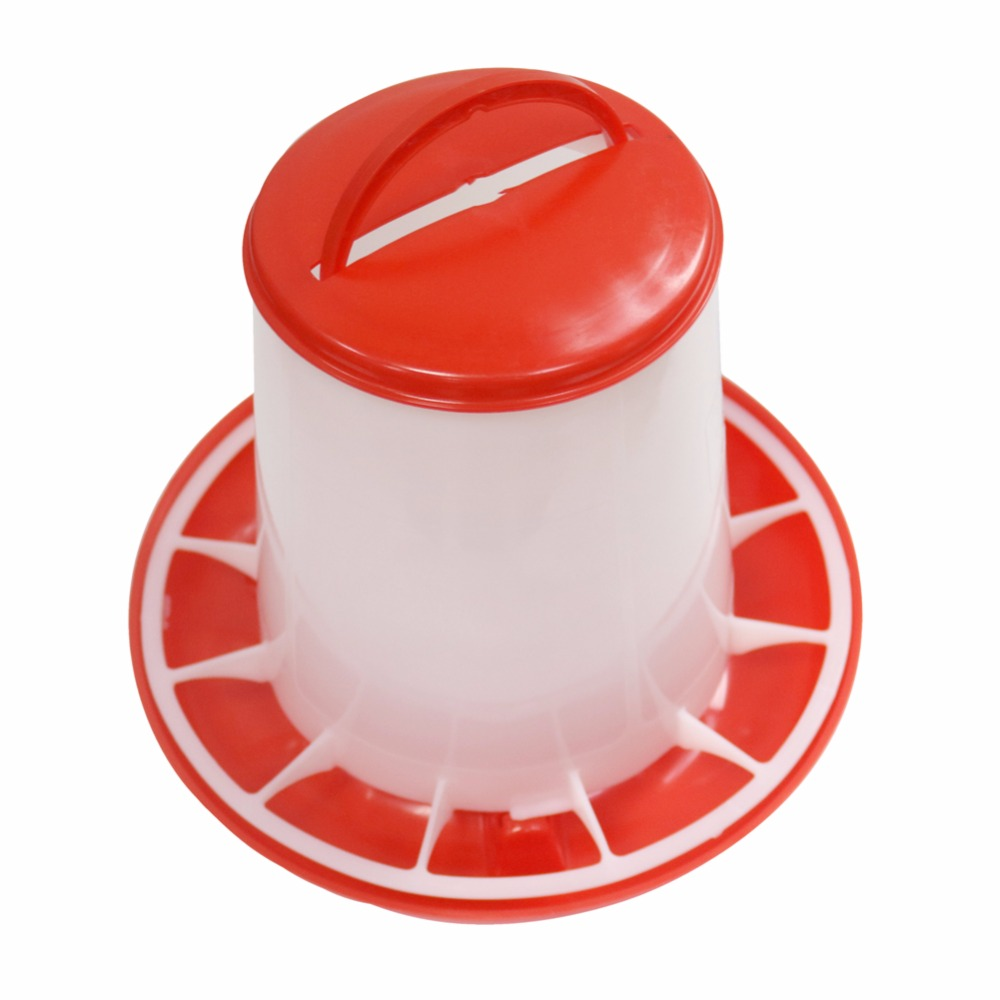 Manjedoura 5 define 3.2 kg de Frango Grade Alimentadores Alimentador de Suspensão do Pássaro Frete grátis