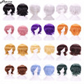 SHOWSTAR Harajuku Short Wig Cosplay Anime Wig Heat Resistant Synthetic Hair Wigs for Japanese Anime Peruca Perruque 12 Colors