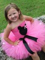 Принцесса Туту Мышь стиль принцессы розовый или красный Тюль Туту Рождественский костюм платье Обувь для девочек детское платье на шнуровк...