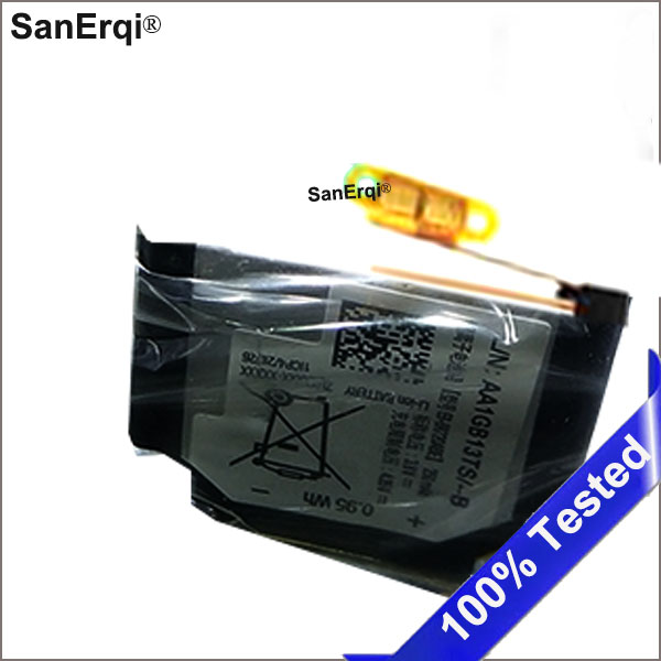 SanErqi 250 mAh 0.95Wh EB-BR720ABE Batterie pour Samsung Vitesse S2 et S2 classique R720 & Gear S2 classique R732 Smart montre