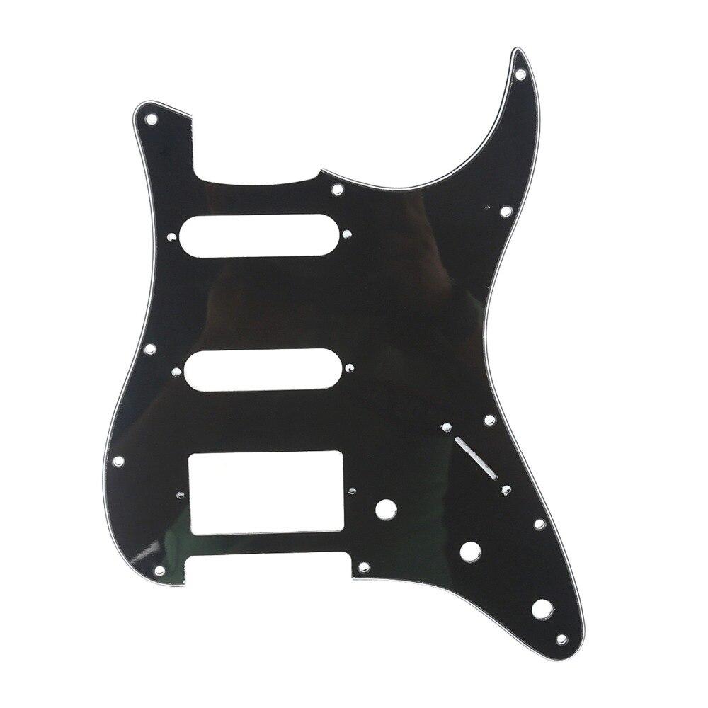 Musiclily HSS 11 Trou Guitare Strat Pickguard pour Fender USA/Mexicain Fait Standard Stratocaster Style Moderne