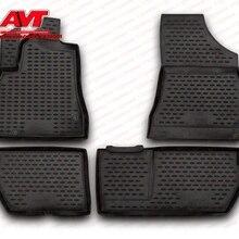Коврики для Citroen Berlingo B9 2008-4 шт. резиновые коврики Нескользящие резиновые аксессуары для салона автомобиля