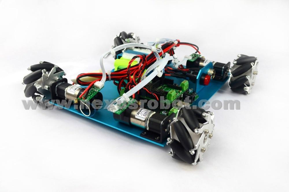Kit robot arduino 4WD 60mm Mecanum rueda 10021