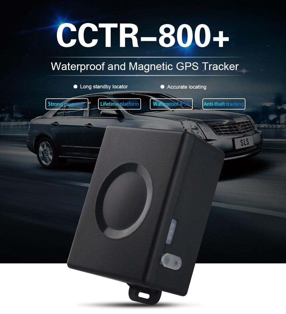 防水強力な磁気車両 GPS トラッカーロケータ CCTR800 +/CCTR 800 + 6000 mah バッテリ、無料の追跡いるプラットフォーム生活のため  グループ上の 自動車 &バイク からの GPS トラッカー の中 1