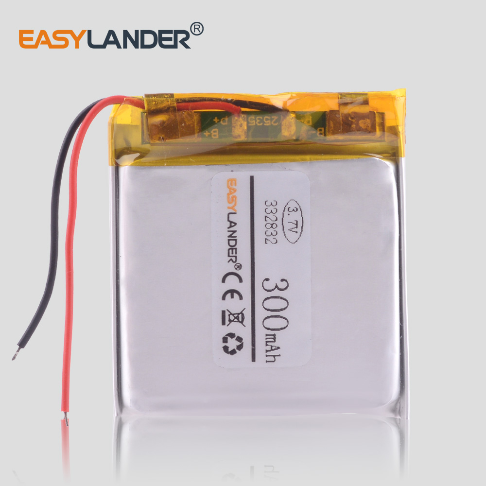 37v 300mah Lithium Polymer Lipo Li Ion Rechargeable Battery 402530 Audio Gt Microphone Circuits Sony C 37a Condenser L4856 332832 Car Dvr Video Recorder Bicycle Alarm