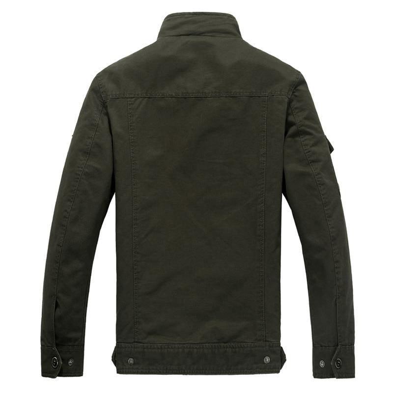 Kaki Taille Mens Nouveau M Marque D'hiver green 6xl Black Vert Homme Militaire Cargo Vestes Vêtements khaki 2017 Couleurs Plus Veste Armée 5xl xxxl 3 Casual 7trrwPx5