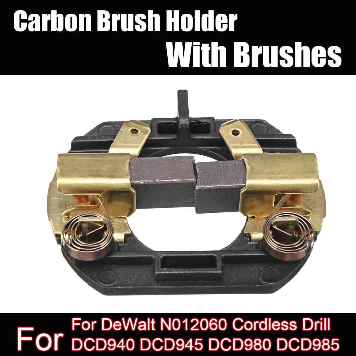 Carbon Brush Holder With Brushes Fit for Cordless Drill DCD730 DCD735 DCD780