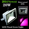 Low Price 20W AC85~265V Blue 554nm Red 660nm Hydroponic Plant Flood LED Grow Lights Led Floodlight Super Bright