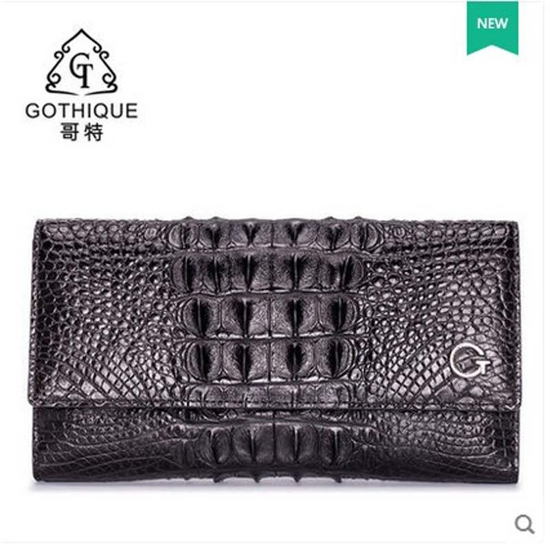 gete 2017 New crocodile leather women bag lady Thai crocodile skin woman clutch bag wrapped women purse wallet gete 2017 new crocodile women handbag lady thai crocodile leather women handbag lady handbag women clutch bag