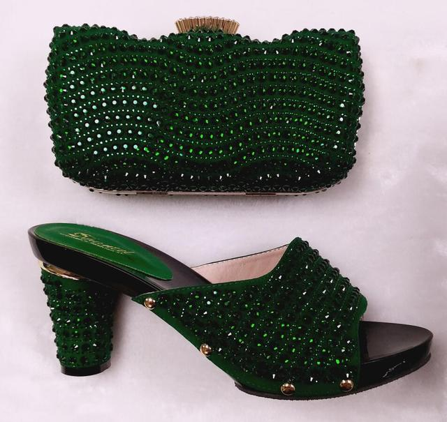 Shoes and Bag To Match Italian African Shoes and Bag Set for Party In Women Italian Matching Shoe and Bag Set Wedding  !MHY1-28