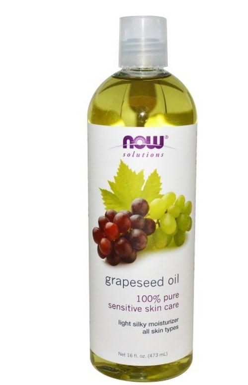 American Grape Seed Oil Moisturizing anti oxygen 473ml Now Foods grapeseed oil
