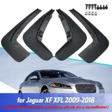 Flaps de lama do carro para jaguar xf xfl 2009 2018 pára lamas respingo guardas mudflaps 2009 2010 2011 2012 2013 2014