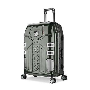 65dc2cd0fbfe 3 Размеры Алюминий рама Spinner багажа ручной клади cabin TSA царапинам  путешествия тележки подвижного багажа чемодан enfant