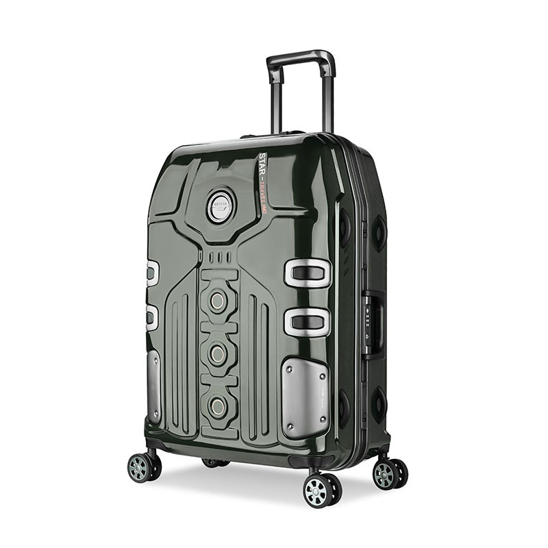 3 Size Aluminum Frame Spinner luggage Carry-on cabin TSA Scratch Resistant Travel trolley Rolling luggage Suitcase valise enfant 20 24 26 inch 2pcs set fresh oxford travel trolley luggage scratch resistant rolling luggage bags suitcase with tsa lock