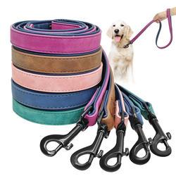 Поводок собаки жгут кожа привести Собака Щенок ходьба Бег поводки обучение веревочный пояс для маленький средний большой собаки для