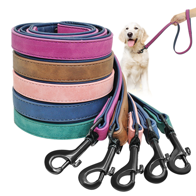 Leather Dog Leads (To Match Personalised Collars)