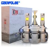 Gzkafolee h4 h7 led bulb hb4 hb3 led h7 canbus D2S D1S D3S D4S H10 Car Headlight Bulbs Voltage 12V Color Temperature 6000K