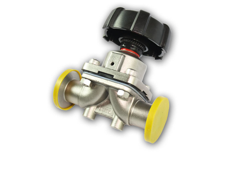 Triclamp 1 inch Sanitary Diaphragm Valve Silicon SS316 Stainless Steel