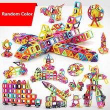 все цены на Solid/Transparent Color Mini Blocks Magnetic Designer Construction Set Model & Building Toy Magnetic Blocks Education Toys онлайн