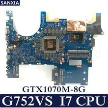 KEFU ROG G752VS Laptop motherboard for ASUS G752VS G752V G752 Test original mainboard CM236 I7 6700HQ