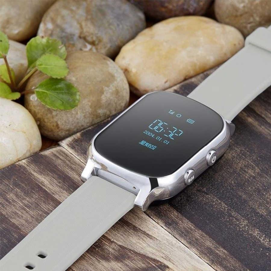 Smartwatch assistlex gw700, smartwatch com rastreador gps, anti-perda, chamada sos, localizador, pedômetro, aplicativo gps, relógio para crianças seniores
