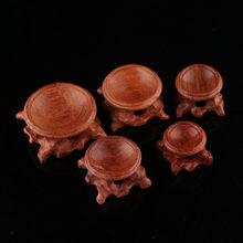 Durable Miniatur Säure Zweig Globus Stein Kristall Ball Halter Holz Ständer Basis Für Kristall Ball Kugel Wohnkultur