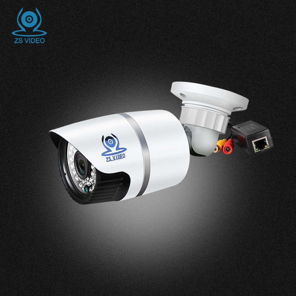 ZSVEDIO Surveillance Cameras IR Night Vision POE IP Camera Alarm System Cameras POE HD IP Camera Outdoor CCTV Monitor Webcam hbss 4ch 1 0m hd 2tb hdd poe ip66 waterproof motion detection 1280 720p ir night vision outdoor mult lang surveillance system