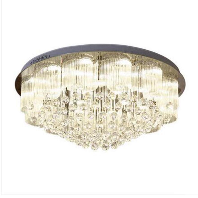 new luxury crystal chandeliers modern lighting AC110V 220V lustre living room lights