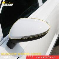 ANTEKE для VW Arteon CC автомобильный укладки зеркало заднего вида светодиодный накладка покрышка стикеры салонные аксессуары
