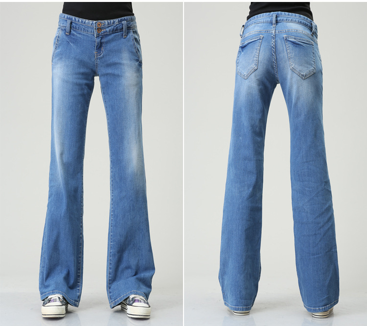 Aliexpress.com : Buy 2015 new women bell bottom jeans pant fashion ...