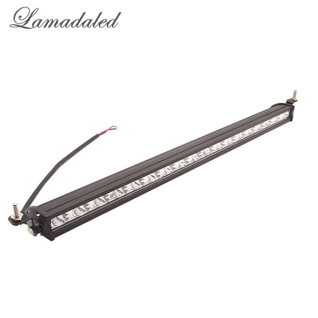 Lamadaled 54w 19'' led work light bar cree chip ATV off road fog lamp driving lights for 4x4 SUV Car Truck Trailer Tractor UTV