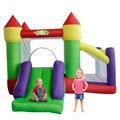 Yard una diapositiva casa de brinco inflable castillo para uso residencial al aire libre juego de la fiesta de cumpleaños