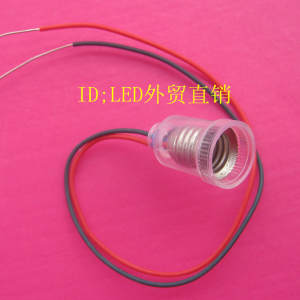 E10 screw type lamp holder with 23011 line small lamp with a small lamp bulb physics teaching spot test