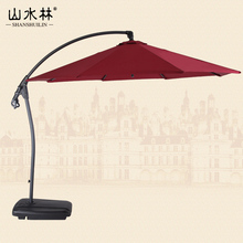 High-grade aluminum outdoor umbrella patio banana Rome umbrellas sun 3 meters