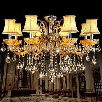 Crystal chandelier lamp Fashion Room chandelier modern crystal light candle for home lighting bedroom living room light crystal