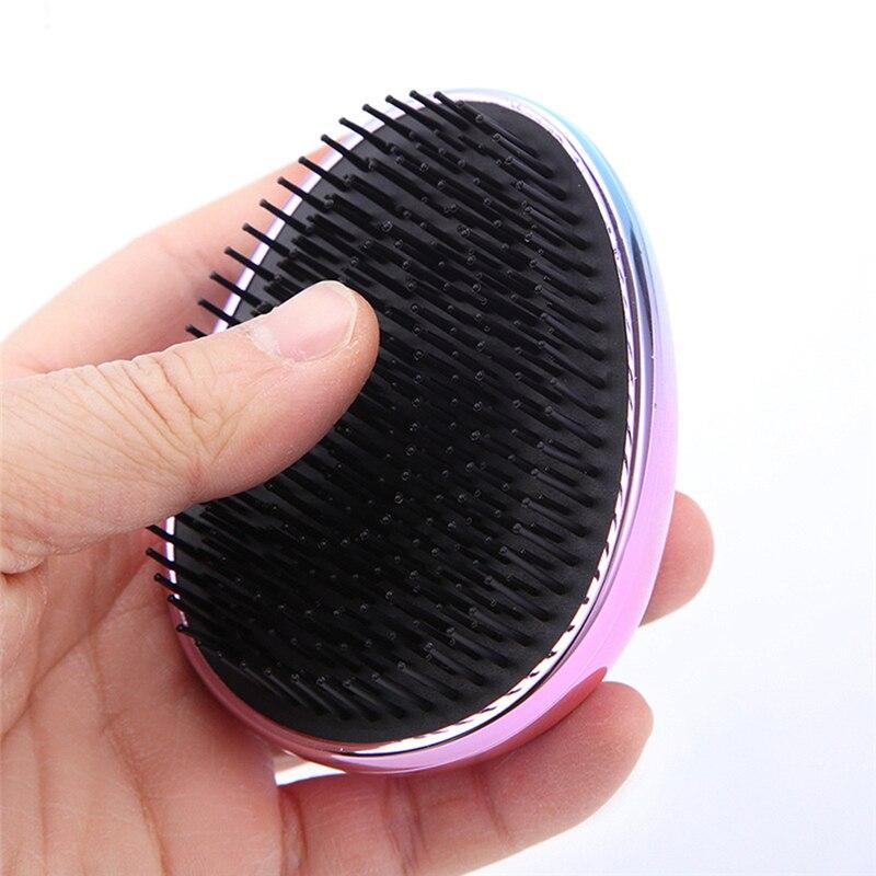 Купить с кэшбэком Portable Hairbrush Fahional Hair Comb Anti-static Hair Brush Hair Modeling Styling Magic Head massage Hairbrush