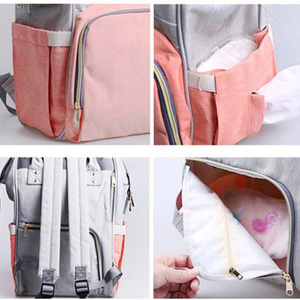 Image 4 - Diaper Bag for mother backpack Large Capacity travel Mom wet nappy bags Tote maternity backpack Baby care stroller Bag organizer