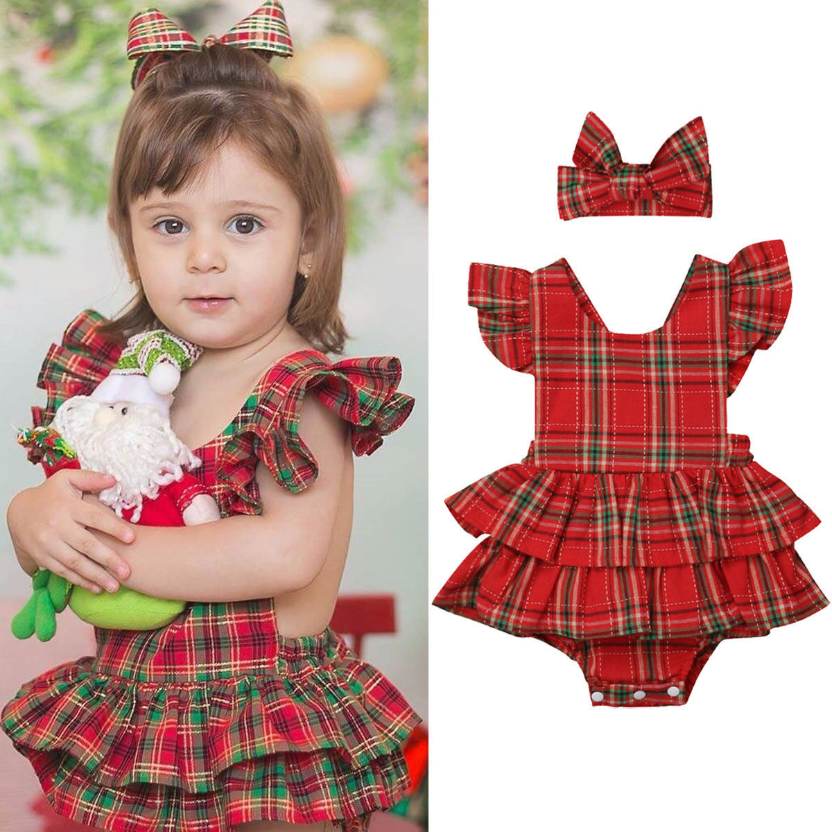 Dressed Romper Headband Tutu Pudding Chess Miss-Babes Fresh-Born Baby Summer with JAYLAY