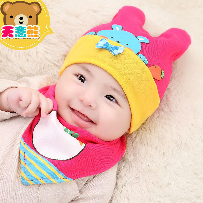 Winter Hat Baby Caps For Baby Girl Beanies Infant For Baby Boy Warm Hat New  Born Shapki Kindermutsen Cotton Cut Rabbit With Bow on Aliexpress.com  dc0afaa6e65