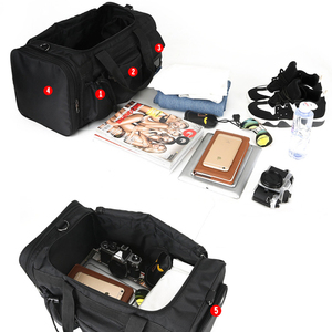 Image 5 - Scione Nylon Gym Sport Tas voor mannen Fitness Trainning Handtas met Schoen Compartiment Pocket bolsa de deporte para las mujeres
