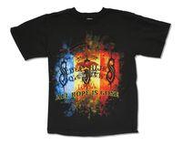 スリップノットトライカラーウイジャ2009ツアーブラックtシャツ新しい公式ホープはゴーン大