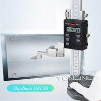 0-300mm/0.01mm Altura Vernier Digital de Calibre Vernier de Aço Inoxidável de Alta Precisão Instrumentos De Medição De Altura