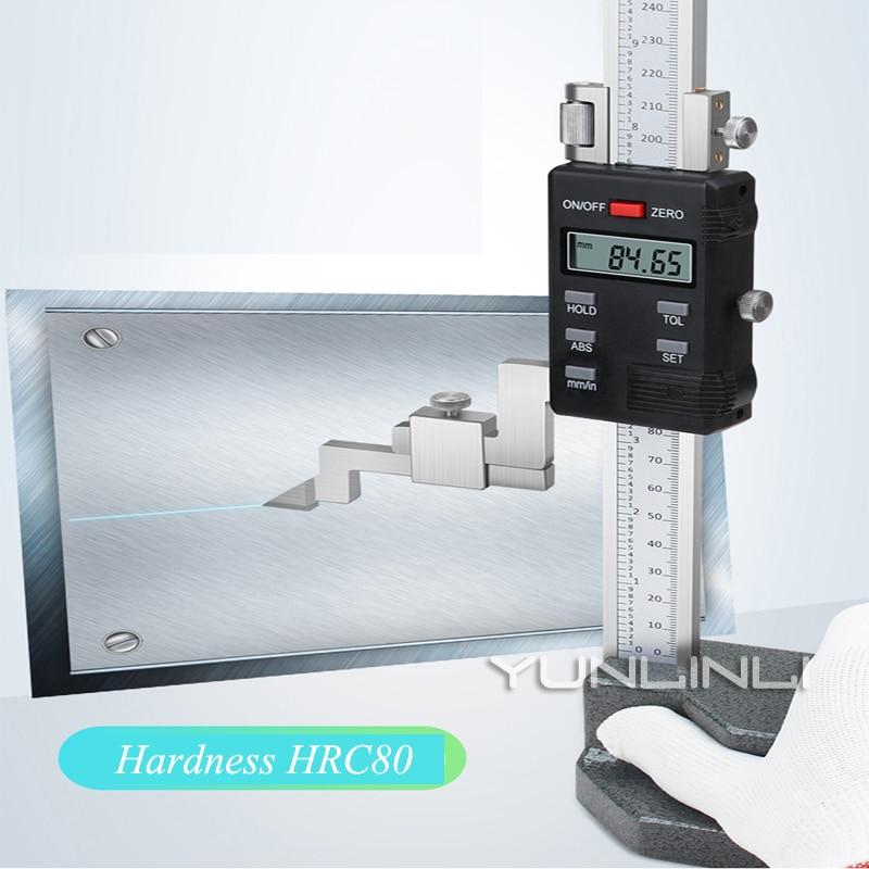 0-300mm/0.01mm Digital Vernier Height Gauge Stainless Steel High Accuracy Vernier Height Measuring Instruments