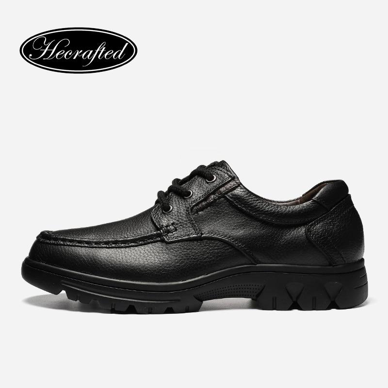 Chaussures grande taille 37 ~ 50 cuir pleine fleur hommes chaussures confortable mode chahuté 2018 hommes chaussures en cuir # ALA1130