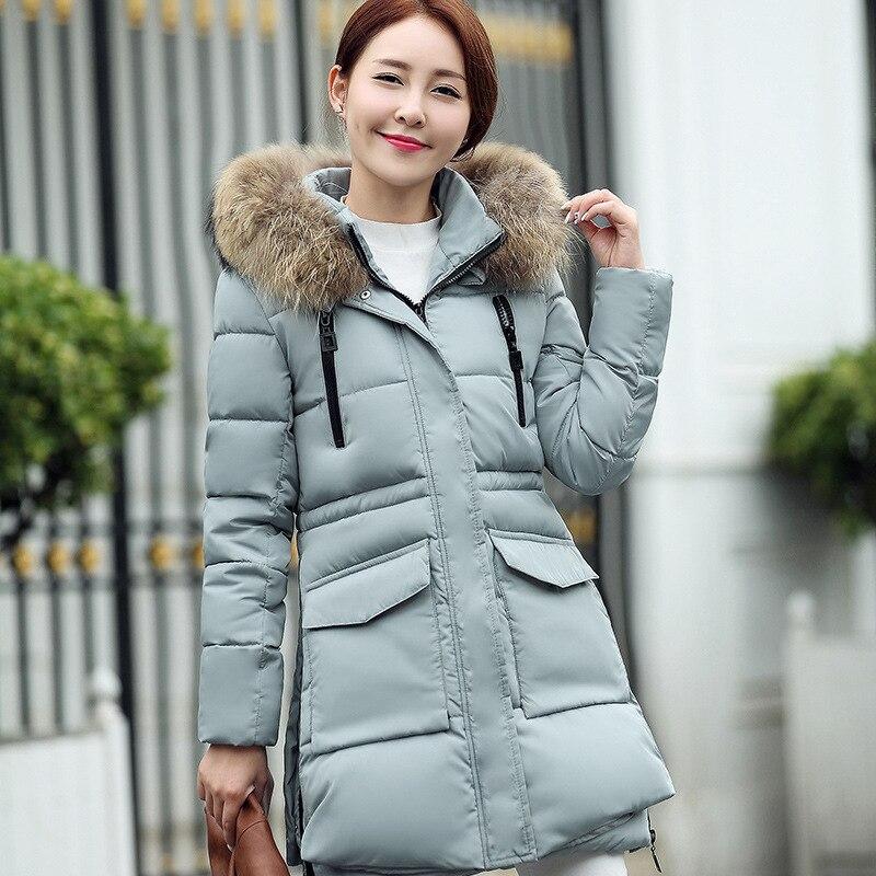 Mode Veste D'hiver A851 Hoodparkas Belle Nouvelle Black Femmes blue Vestes Pour Longfur red green xIqfIr