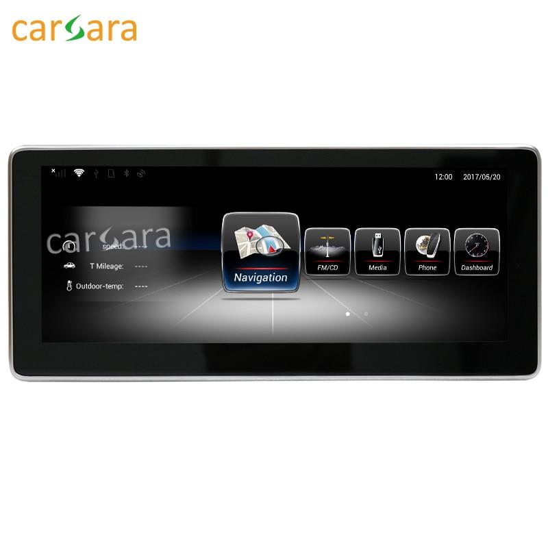 10.25 Android moniteur pour Benz GLA CLA Une Classe W176 CLA 45 200 250 2013 à 2015 écran tactile GPS Navigation multimédia lecteur