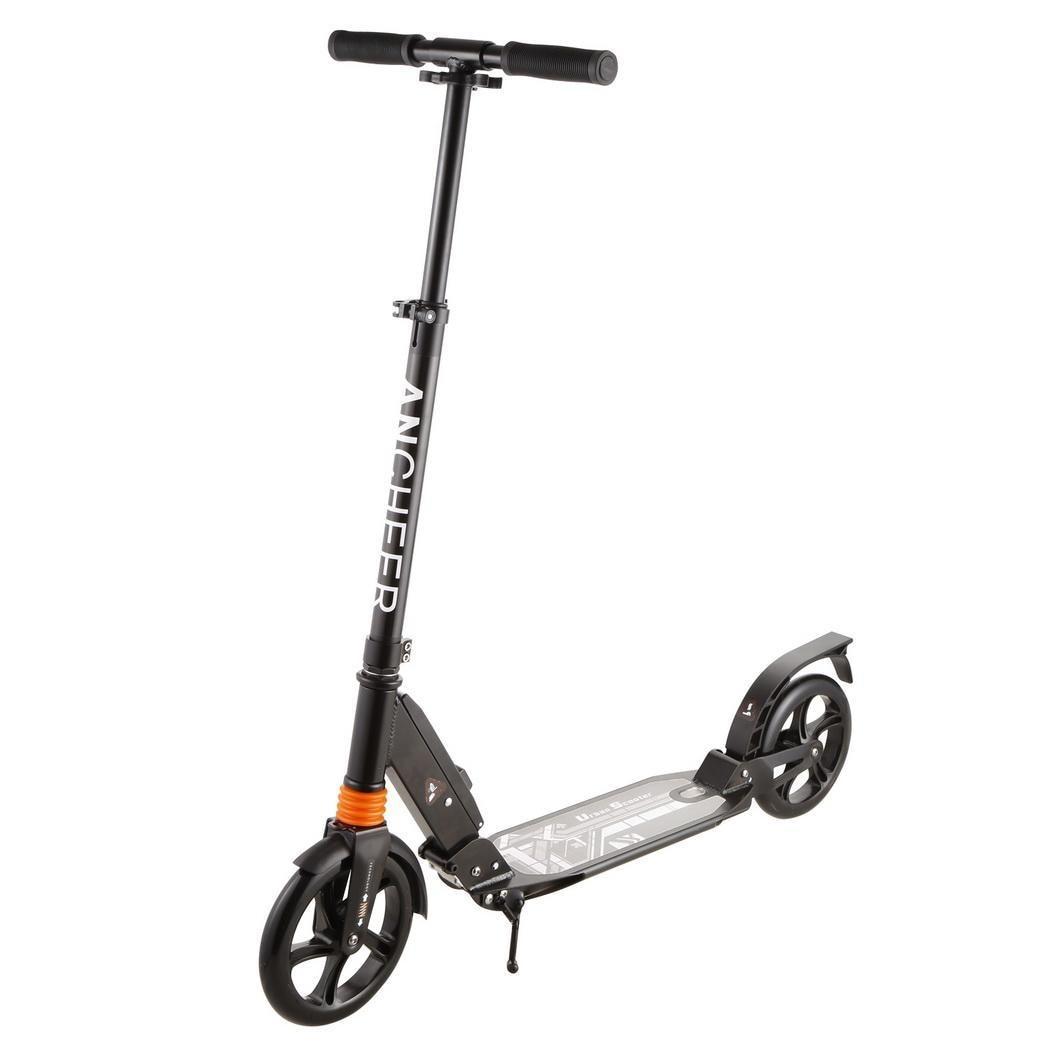 ANCHEER nouveau Scooter robuste léger coup de pied Scooters réglables en alliage d'aluminium t-style pliable adultes pieds Scooters